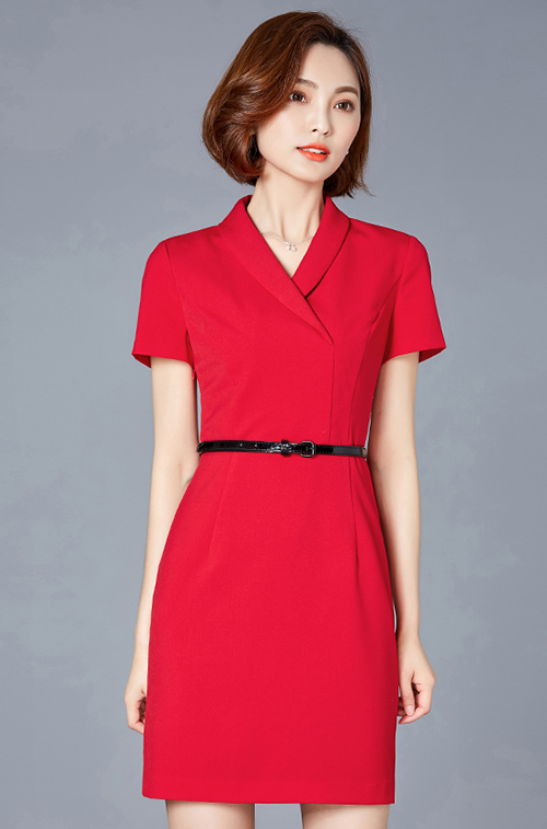 公司职业装-连衣裙